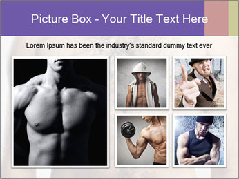 Man's chest PowerPoint Template - Slide 19