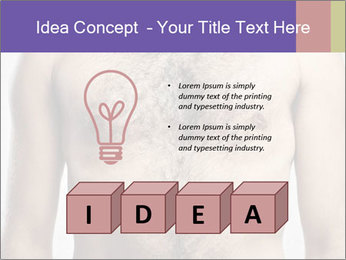 Man's chest PowerPoint Template - Slide 80