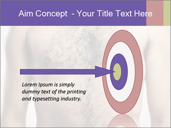 Man's chest PowerPoint Template - Slide 83