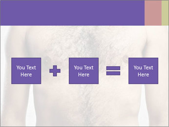 Man's chest PowerPoint Template - Slide 95