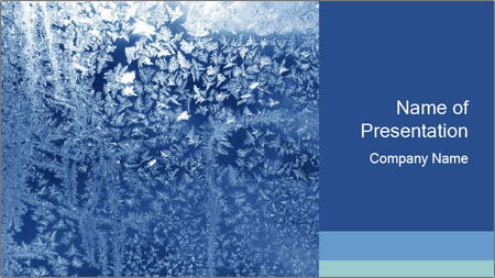 Ice PowerPoint Template