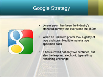 Railway track PowerPoint Template - Slide 10