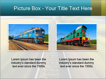 Railway track PowerPoint Template - Slide 18