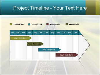 Railway track PowerPoint Template - Slide 25
