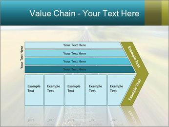 Railway track PowerPoint Template - Slide 27