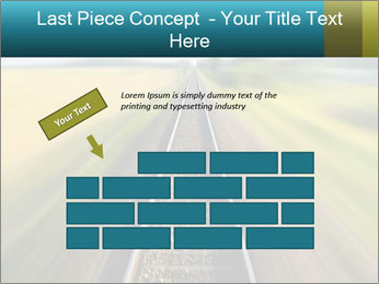 Railway track PowerPoint Template - Slide 46