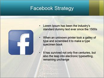 Railway track PowerPoint Template - Slide 6