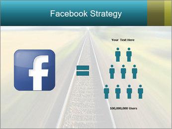 Railway track PowerPoint Template - Slide 7