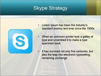 Railway track PowerPoint Template - Slide 8
