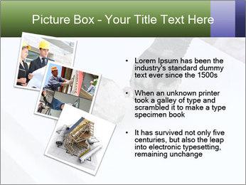 Trowel spreading PowerPoint Template - Slide 17