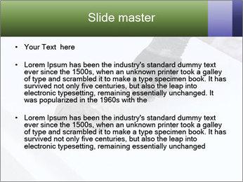 Trowel spreading PowerPoint Template - Slide 2