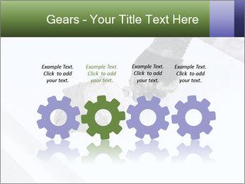 Trowel spreading PowerPoint Template - Slide 48