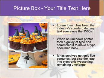 Halloween cupcakes PowerPoint Template - Slide 13