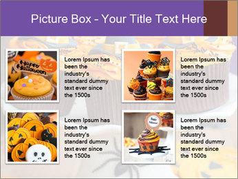 Halloween cupcakes PowerPoint Template - Slide 14