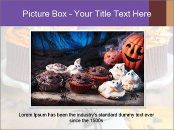 Halloween cupcakes PowerPoint Template - Slide 15
