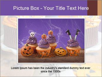 Halloween cupcakes PowerPoint Template - Slide 16
