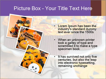 Halloween cupcakes PowerPoint Template - Slide 17