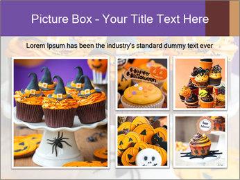 Halloween cupcakes PowerPoint Template - Slide 19