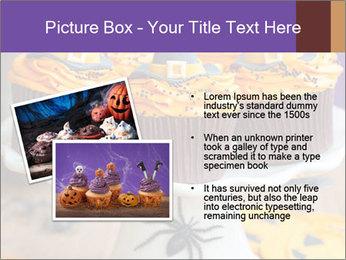 Halloween cupcakes PowerPoint Template - Slide 20