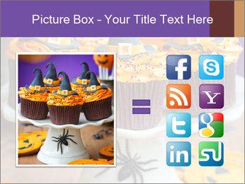 Halloween cupcakes PowerPoint Template - Slide 21