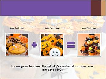Halloween cupcakes PowerPoint Template - Slide 22