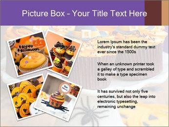 Halloween cupcakes PowerPoint Template - Slide 23