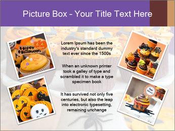Halloween cupcakes PowerPoint Template - Slide 24