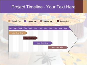 Halloween cupcakes PowerPoint Template - Slide 25
