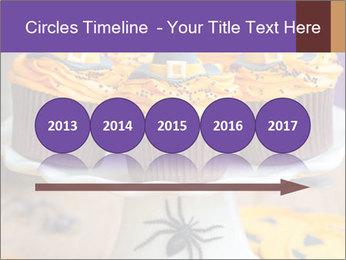 Halloween cupcakes PowerPoint Template - Slide 29