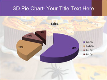 Halloween cupcakes PowerPoint Template - Slide 35