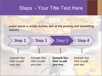 Halloween cupcakes PowerPoint Template - Slide 4