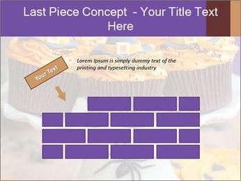Halloween cupcakes PowerPoint Template - Slide 46