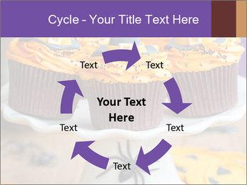 Halloween cupcakes PowerPoint Template - Slide 62