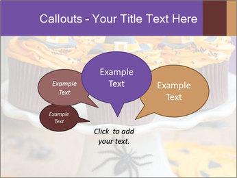 Halloween cupcakes PowerPoint Template - Slide 73