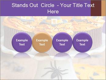 Halloween cupcakes PowerPoint Template - Slide 76