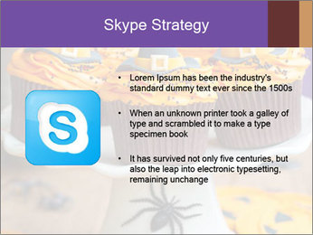 Halloween cupcakes PowerPoint Template - Slide 8