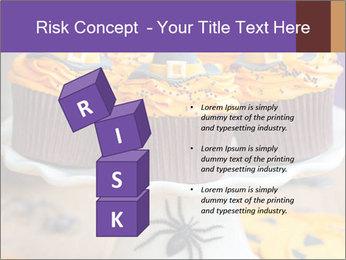 Halloween cupcakes PowerPoint Template - Slide 81