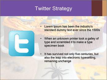 Halloween cupcakes PowerPoint Template - Slide 9