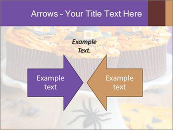Halloween cupcakes PowerPoint Template - Slide 90