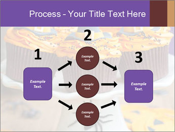 Halloween cupcakes PowerPoint Template - Slide 92