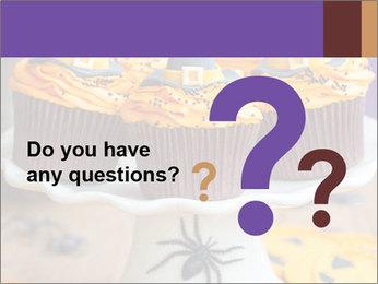 Halloween cupcakes PowerPoint Template - Slide 96