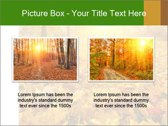 Colorful foliage PowerPoint Template - Slide 18