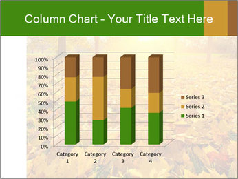 Colorful foliage PowerPoint Template - Slide 50