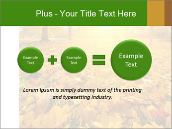 Colorful foliage PowerPoint Template - Slide 75