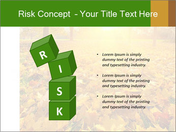 Colorful foliage PowerPoint Template - Slide 81