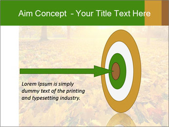 Colorful foliage PowerPoint Template - Slide 83