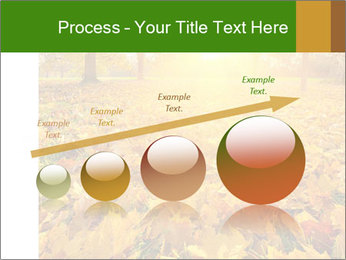 Colorful foliage PowerPoint Template - Slide 87