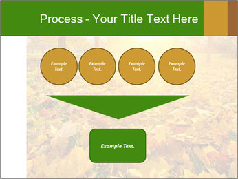 Colorful foliage PowerPoint Template - Slide 93