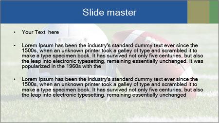 American Football PowerPoint Template - Slide 2