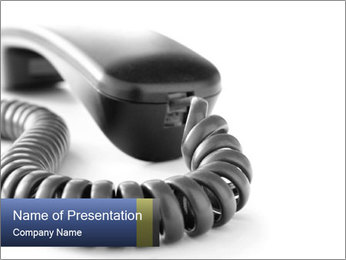 Phone PowerPoint Template - Slide 1